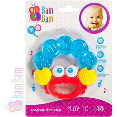 BAM BAM Kousátko plastové KRAB pro miminko