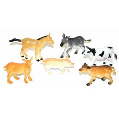 Zvířata domácí (Farma) v sáčku 6 ks